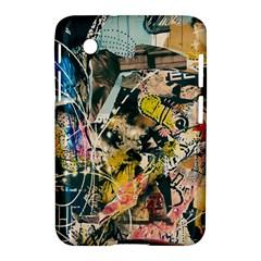 Art Graffiti Abstract Vintage Samsung Galaxy Tab 2 (7 ) P3100 Hardshell Case