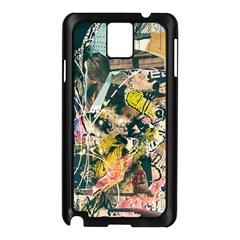 Art Graffiti Abstract Vintage Samsung Galaxy Note 3 N9005 Case (black)
