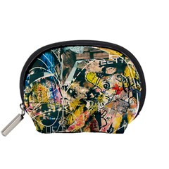 Art Graffiti Abstract Vintage Accessory Pouches (small)
