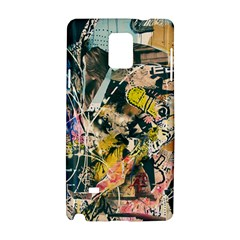 Art Graffiti Abstract Vintage Samsung Galaxy Note 4 Hardshell Case