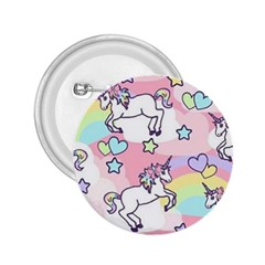 Unicorn Rainbow 2 25  Buttons