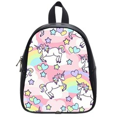 Unicorn Rainbow School Bag (small)