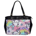 Unicorn Rainbow Office Handbags Front