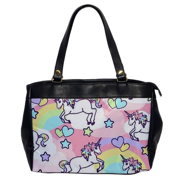 Unicorn Rainbow Office Handbags