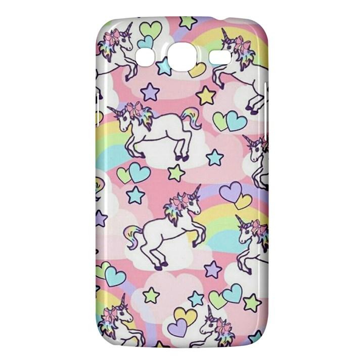 Unicorn Rainbow Samsung Galaxy Mega 5.8 I9152 Hardshell Case