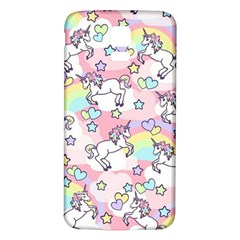 Unicorn Rainbow Samsung Galaxy S5 Back Case (white)