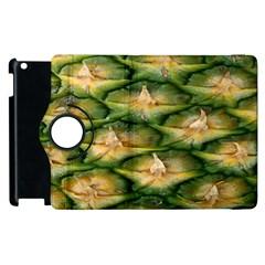 Pineapple Pattern Apple Ipad 2 Flip 360 Case