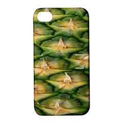Pineapple Pattern Apple Iphone 4/4s Hardshell Case With Stand