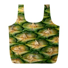 Pineapple Pattern Full Print Recycle Bags (l)