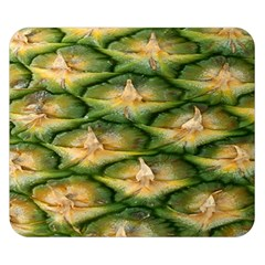 Pineapple Pattern Double Sided Flano Blanket (small)