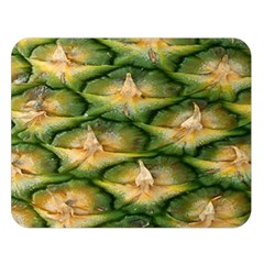 Pineapple Pattern Double Sided Flano Blanket (large)