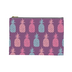Pineapple Pattern Cosmetic Bag (large)