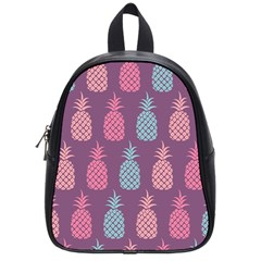 Pineapple Pattern School Bag (small)