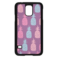 Pineapple Pattern Samsung Galaxy S5 Case (black)