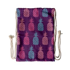 Pineapple Pattern Drawstring Bag (small)
