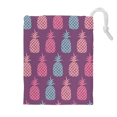 Pineapple Pattern Drawstring Pouches (extra Large)