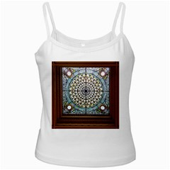 Stained Glass Window Library Of Congress White Spaghetti Tank