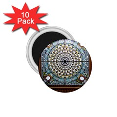 Stained Glass Window Library Of Congress 1 75  Magnets (10 Pack)