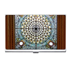 Stained Glass Window Library Of Congress Business Card Holders