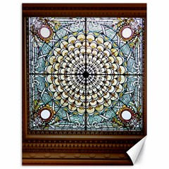 Stained Glass Window Library Of Congress Canvas 18  X 24