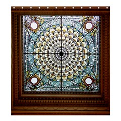 Stained Glass Window Library Of Congress Shower Curtain 66  X 72  (large)