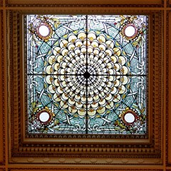 Stained Glass Window Library Of Congress Magic Photo Cubes