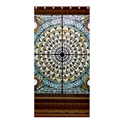 Stained Glass Window Library Of Congress Shower Curtain 36  X 72  (stall)