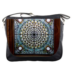 Stained Glass Window Library Of Congress Messenger Bags