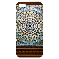 Stained Glass Window Library Of Congress Apple Iphone 5 Hardshell Case