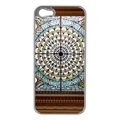 Stained Glass Window Library Of Congress Apple Iphone 5 Case (silver)