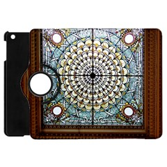 Stained Glass Window Library Of Congress Apple Ipad Mini Flip 360 Case