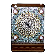Stained Glass Window Library Of Congress Apple Ipad Mini Hardshell Case (compatible With Smart Cover)