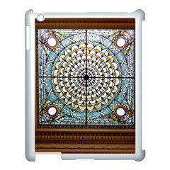 Stained Glass Window Library Of Congress Apple Ipad 3/4 Case (white)