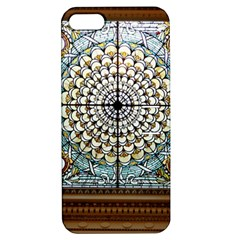 Stained Glass Window Library Of Congress Apple Iphone 5 Hardshell Case With Stand