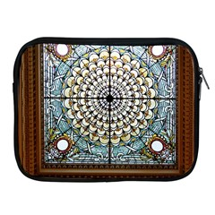 Stained Glass Window Library Of Congress Apple Ipad 2/3/4 Zipper Cases
