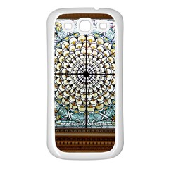 Stained Glass Window Library Of Congress Samsung Galaxy S3 Back Case (white)