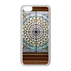 Stained Glass Window Library Of Congress Apple Iphone 5c Seamless Case (white)