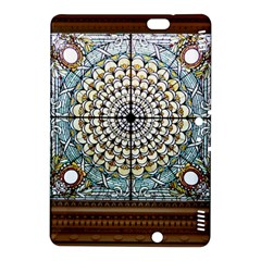 Stained Glass Window Library Of Congress Kindle Fire Hdx 8 9  Hardshell Case