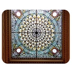 Stained Glass Window Library Of Congress Double Sided Flano Blanket (medium)