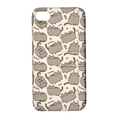 Pusheen Wallpaper Computer Everyday Cute Pusheen Apple Iphone 4/4s Hardshell Case With Stand