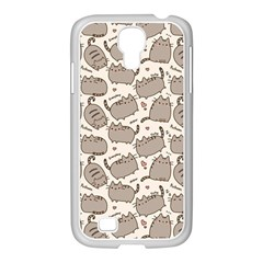 Pusheen Wallpaper Computer Everyday Cute Pusheen Samsung Galaxy S4 I9500/ I9505 Case (white)