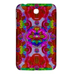 Fantasy   Florals  Pearls In Abstract Rainbows Samsung Galaxy Tab 3 (7 ) P3200 Hardshell Case