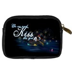 kiss the girl  Digital Camera Leather Case Back