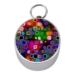 Psychedelic Lights 2 Mini Silver Compasses