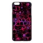 Psychedelic Lights 3 Apple iPhone 6 Plus/6S Plus Black Enamel Case Front