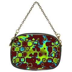 Psychedelic Lights 6 Chain Purses (two Sides)