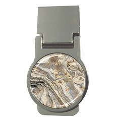 Background Structure Abstract Grain Marble Texture Money Clips (round)