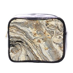 Background Structure Abstract Grain Marble Texture Mini Toiletries Bags
