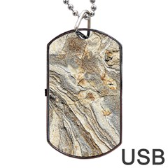 Background Structure Abstract Grain Marble Texture Dog Tag Usb Flash (one Side)