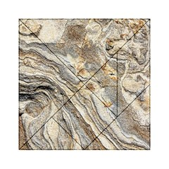 Background Structure Abstract Grain Marble Texture Acrylic Tangram Puzzle (6  X 6 )